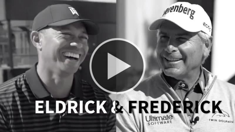 Tiger Woods und Fred Couples über ihre Ticks auf dem Golfplatz