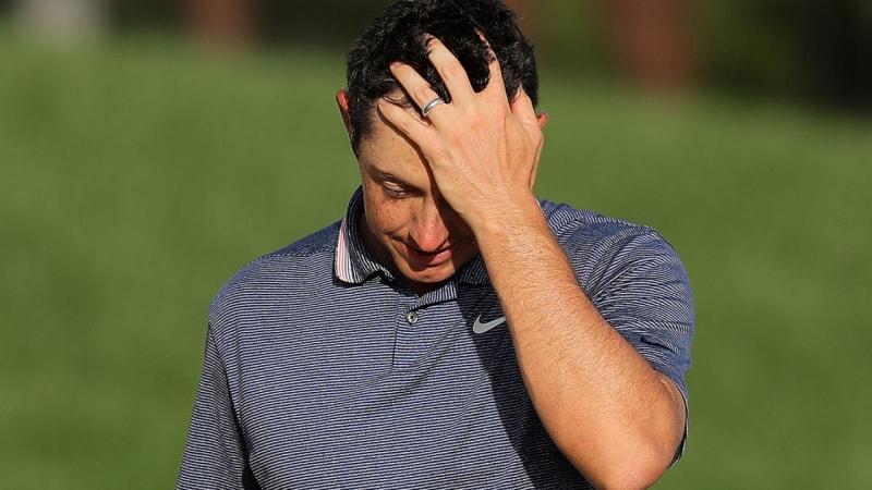 Vorne dabei, dann knapp vorbei: Kann Rory McIlroy nicht mehr gewinnen?