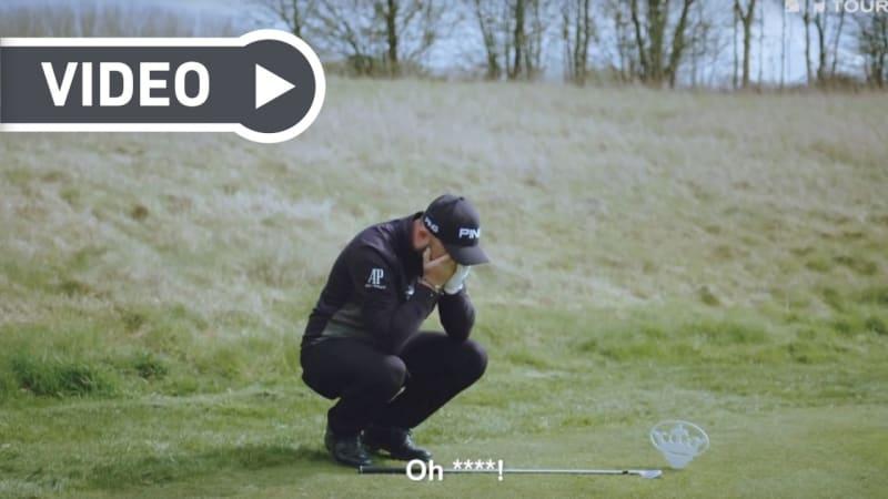Video: Andy Sullivan stellt sich der Hole-in-One Challenge der European Tour
