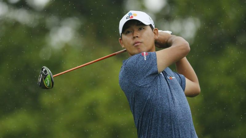 PGA Tour: Si Woo Kim spielt beinahe zweites Hole-in-One und führt