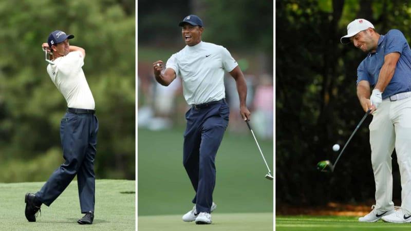 US Masters 2019: Führungs-Quintett und Tiger Woods als Jäger nach der zweiten Runde