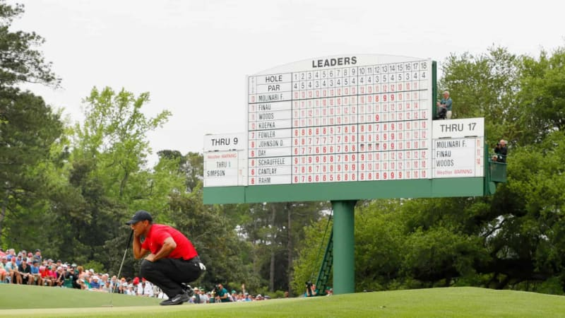 US Masters 2019: Tiger Woods' Sieg in Zahlen