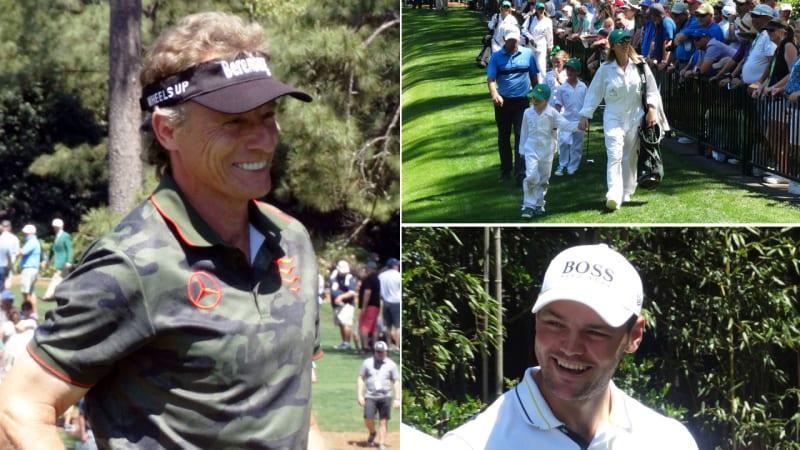 US Masters 2019: Martin Kaymer wird Dritter beim Par-3-Contest
