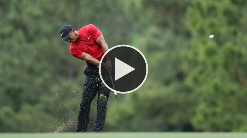 Video: Tiger Woods' Finalrunde - Die besten Schläge des Masters-Märchens