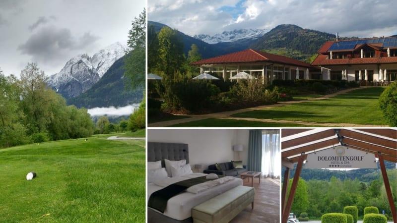 Dolomitengolf Resort: Golf-Oase vor majestätischem Bergpanorama