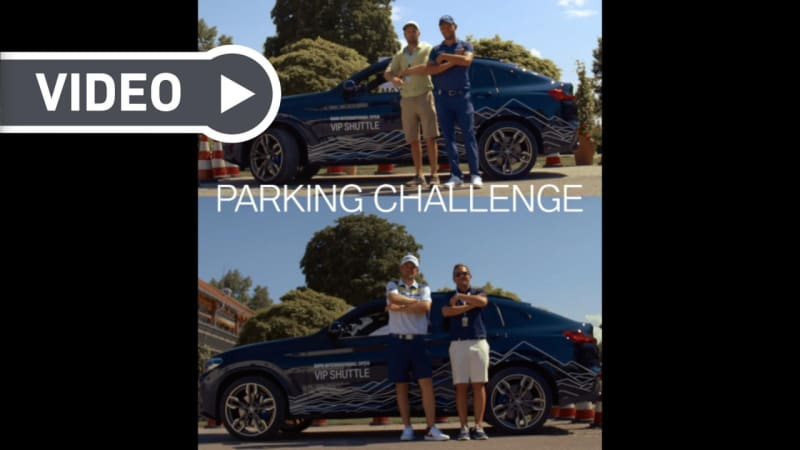 BMW International Open 2019: Blind Parking Challenge