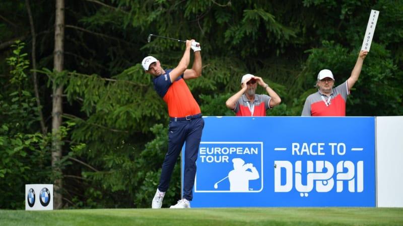 European Tour: Bernd Ritthammer rettet sich ins Wochenende