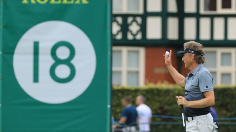 Champions Tour: Bernhard Langer gewinnt die Senior Open