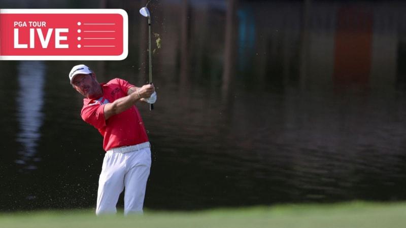PGA Tour LIVE: Alex Cejka beginnt die letzte Runde