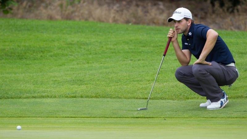 Nicolai von Dellingshausen in den Top 5 auf der Challenge Tour