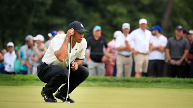 PGA Tour: Tiger Woods spielt seine zweite 71er Runde