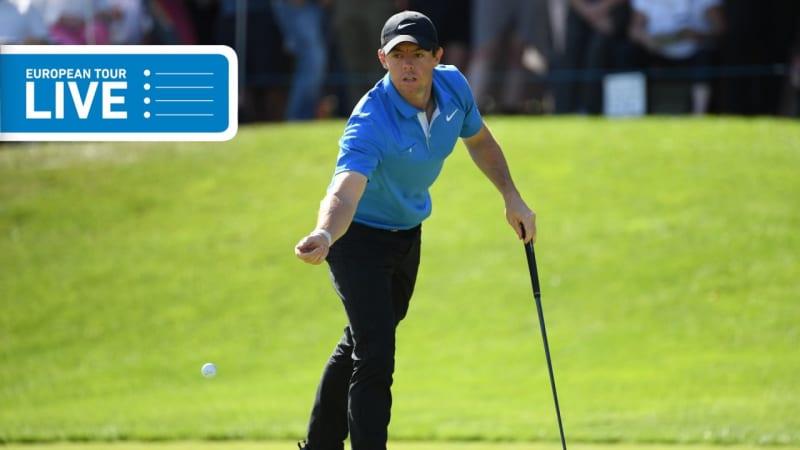 European Tour LIVE: Rory McIlroy nun doch auf dem Weg ins Wochenende?