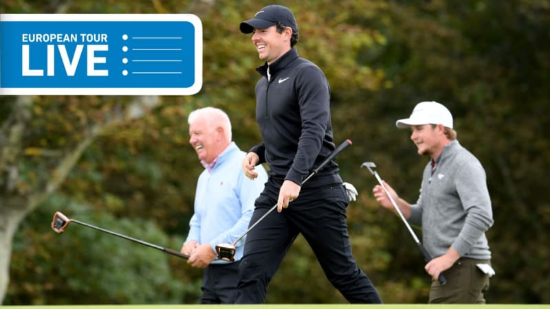European Tour LIVE: Rory McIlroy mit Birdieserie