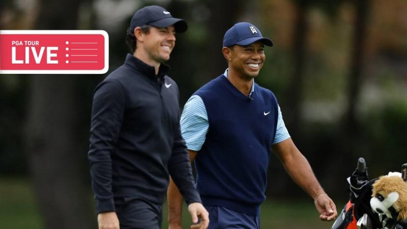 PGA Tour LIVE: Kann Tiger seine Führung behaupten?