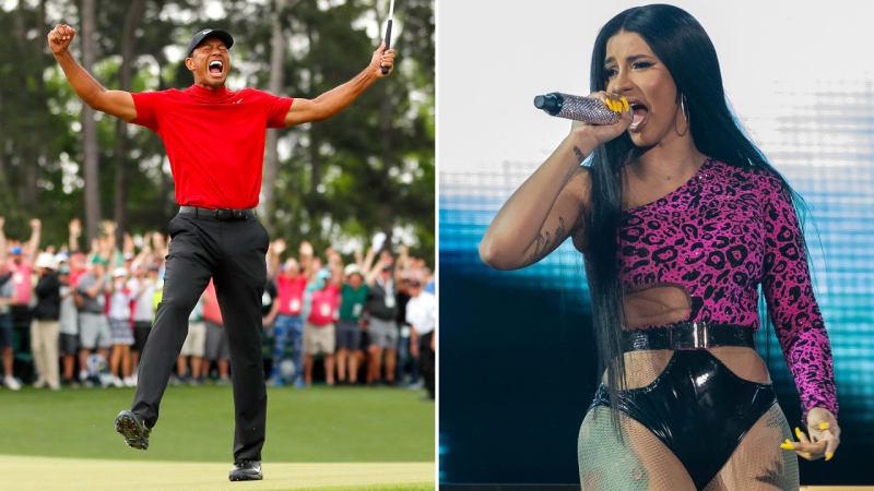 Der Tiger und die Rapperin: Cardi B will Woods musikalisch verewigen