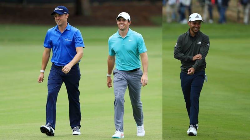 PGA Tour Tee Times: Thomas, McIlroy und Schauffele in einem Flight