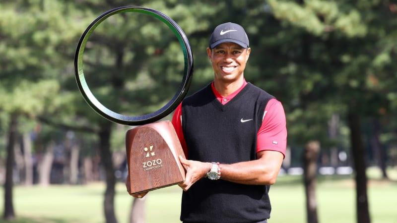PGA Tour: Tiger Woods gewinnt in Japan und stellt Uralt-Rekord ein