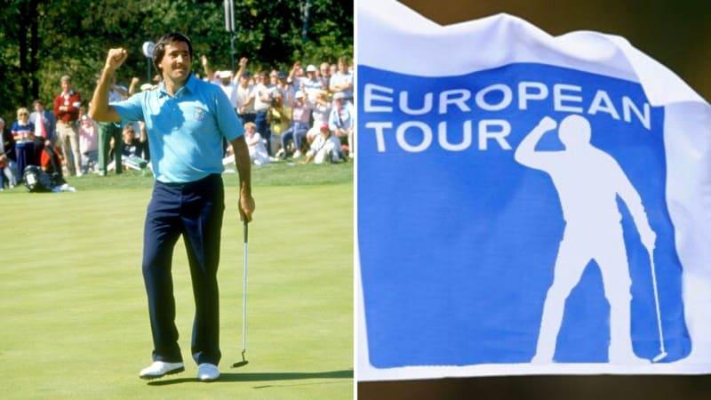 Zum neuen Logo der European Tour: Ja, wie wärs denn mit Ballesteros?