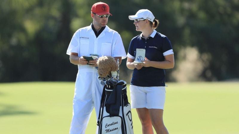 LPGA Tour: Caro Masson geht als Zweitplatzierte ins Wochenende