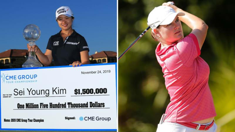 LPGA Tour: Kim gewinnt Rekordpreisgeld, Masson wird Elfte