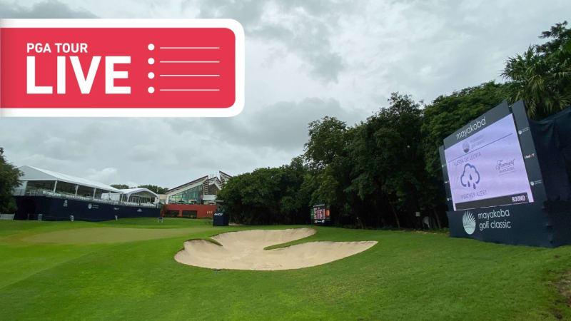 PGA Tour LIVE: Der zweite Tag in Playa del Carmen