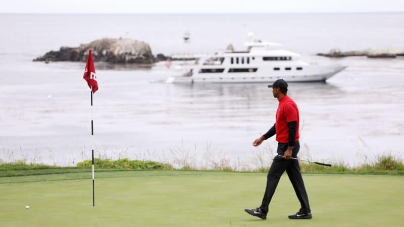 Perspektivreicher Design-Job: Tiger Woods legt in Pebble Beach Hand an