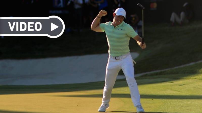 PGA Tour: Die besten Schläge des vergangenen Jahrzehnts im Video
