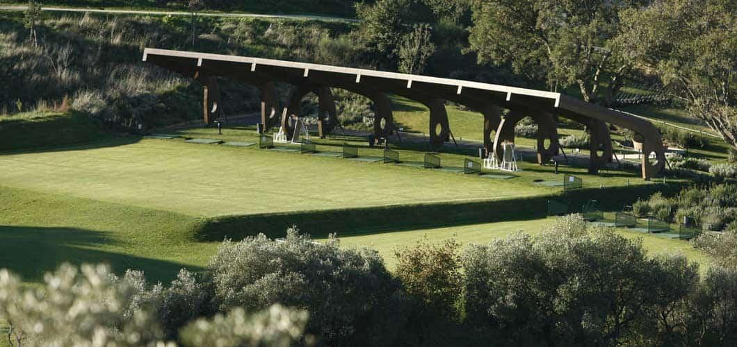 Das Argentario Golf Resort in der Toskana: Die Driving Range. (Bild: Argentario Golf Resort)