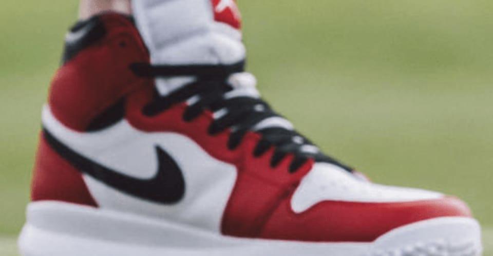 Der Air Jordan I Golf ist mit Soft-Spikes versehen und auf die Bedürfnisse der Golfer zugeschnitten. (Foto: Nike)