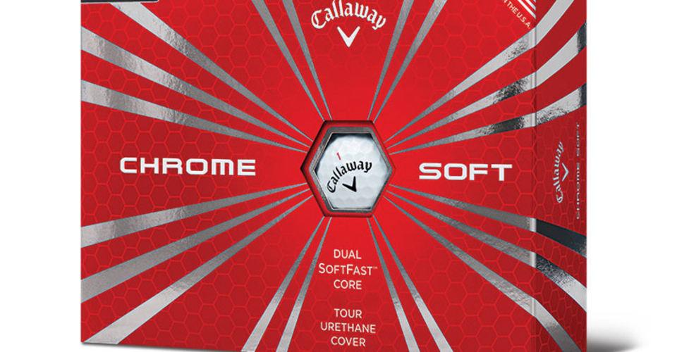 Der neue Chrome Soft Golfball von Callaway... (Foto: Callaway)