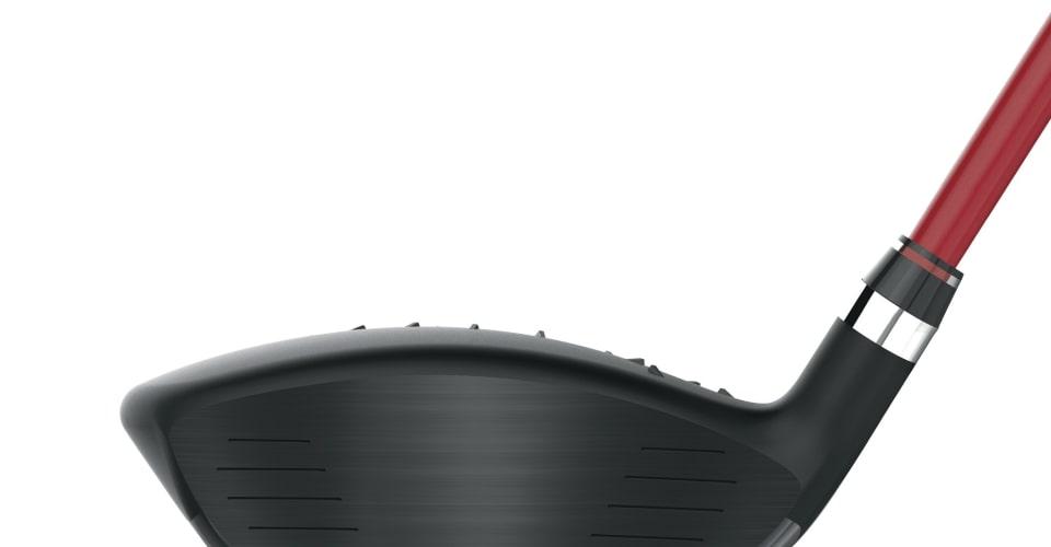 Die D300 Fairwayhölzer haben ein Schlagflächeneinsatz aus 455er Maraging Stahl. (Foto: Wilson Staff)