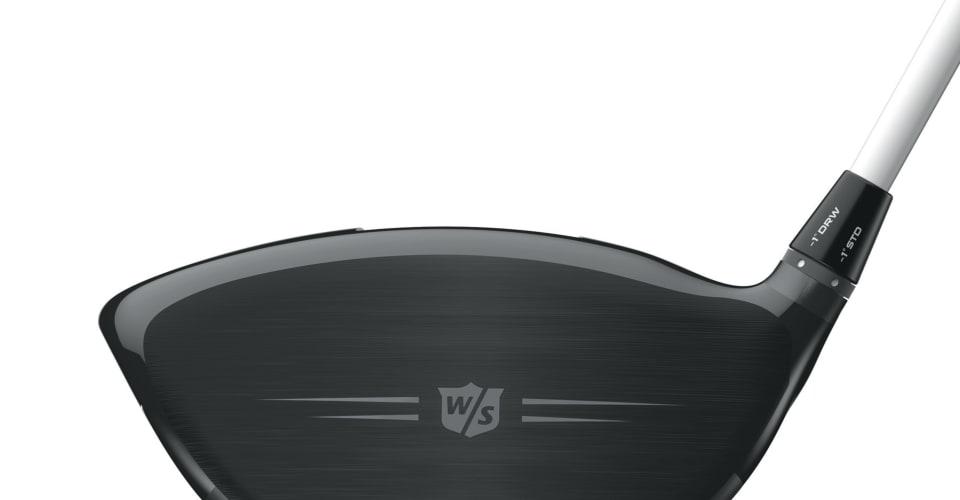 Als weitere individuell einstellbare Komponente verfügt der Wilson Staff Driver über einen leicht zu bedienenden Hosel. (Foto: Wilson Staff)