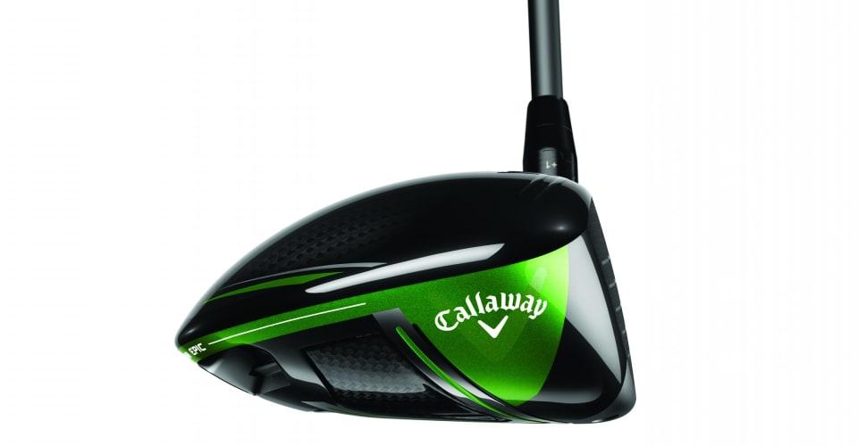 Schwarze, silberne und grüne Elemente machen den GBB Epic Driver zu einem optischen Highlight. (Foto: Callaway)