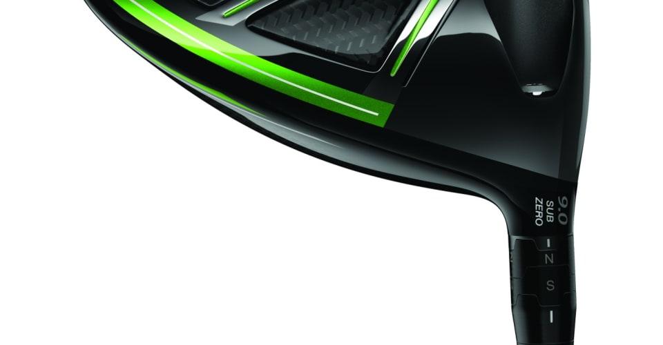 Niedriger Ballflug und geringe Spinraten machen das Sub Zero Modell des GBB Epic aus. (Foto: Callaway)