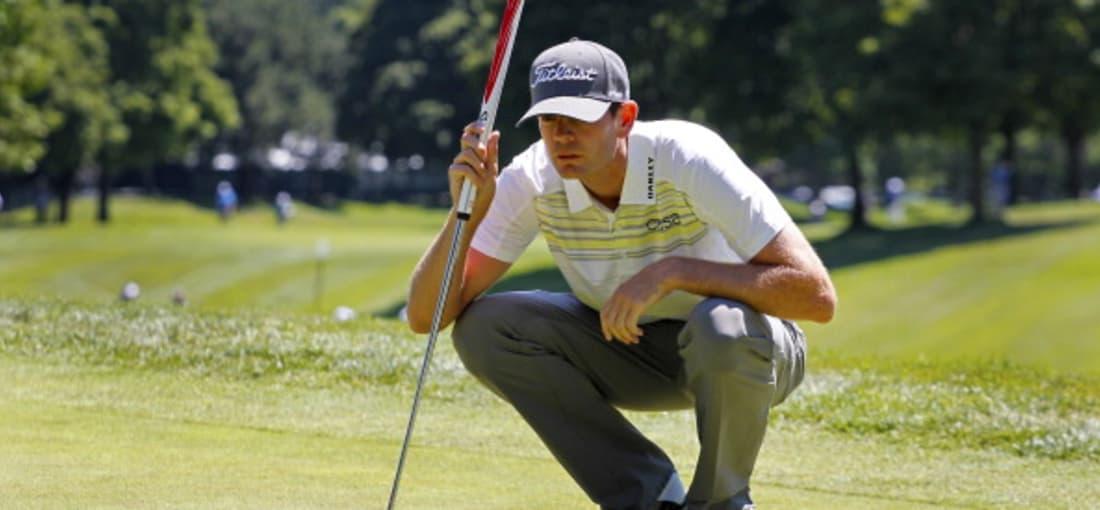 Trotz skeptischen Blicks: Brendan Steele sicherte sich am ersten Tag der Canadian Open die Führung. (Foto: Getty)