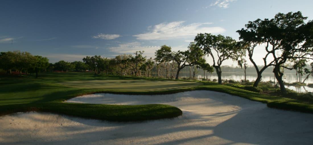 Immerhin: Dem Bundesstaat blieb er treu. Woods residiert seit seinem Umzug auf Jupiter Island - im Anwesen mit eigenem Golfplatz. (Foto: Getty)