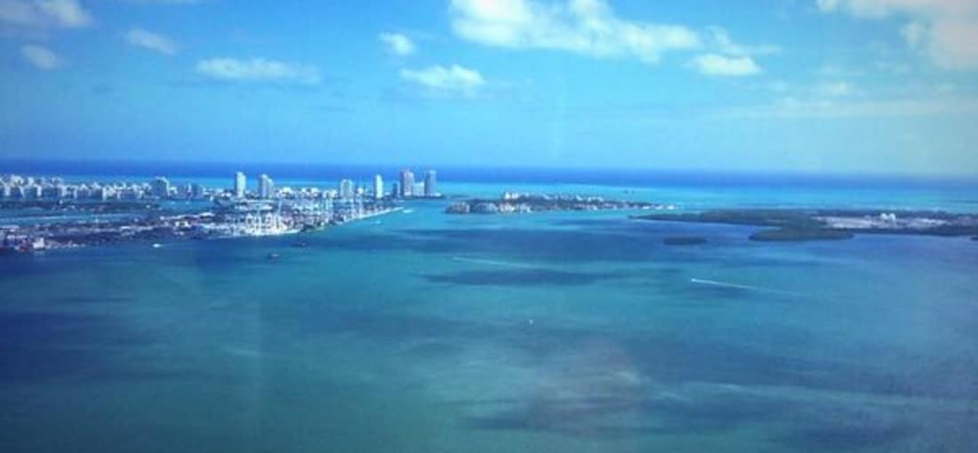 """...und auch dieser twitterte erst Ende letzten Jahres ein Bild aus Florida: """"Ein schöner Tag in Miami"""". (Foto: @McIlroyRory, Twitter)"""