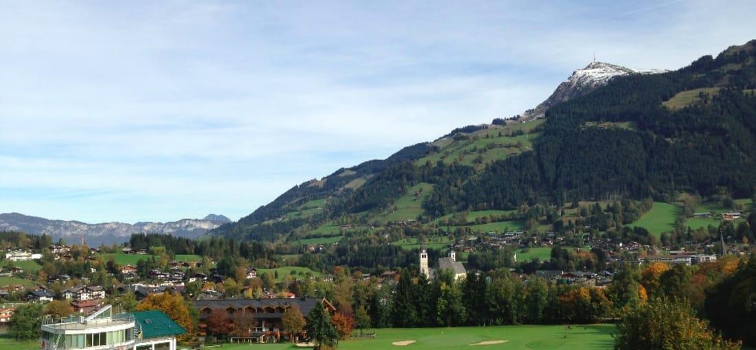 Blick auf das Grün von Loch 9, GLC Rasmushof