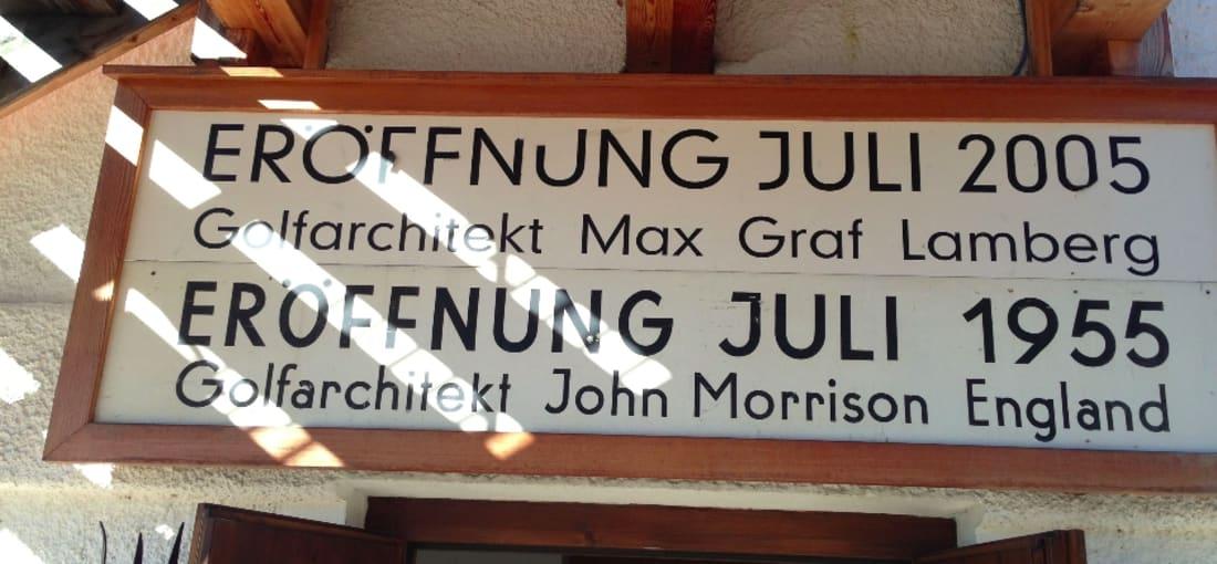 GC Kitzbühel und seine Architekten