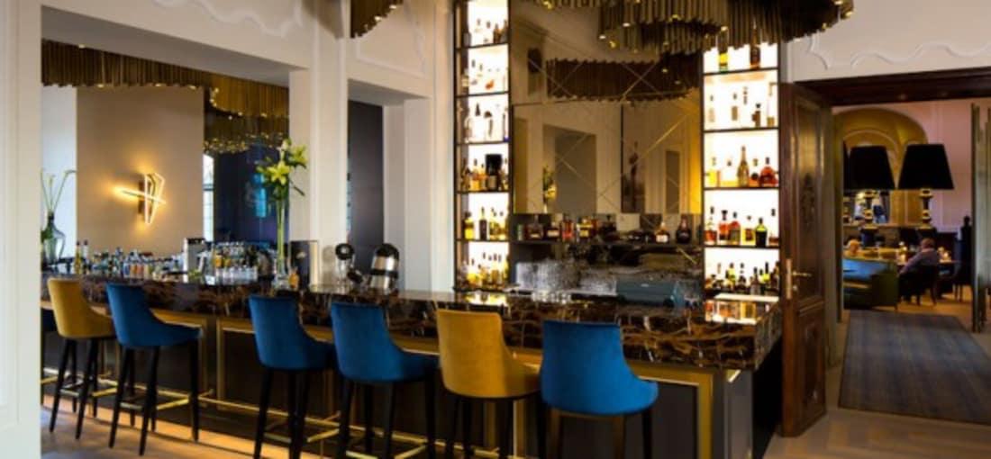 Die Bar 1842 im Schlosshotel Fleesensee punktet mit kreativen Cocktail-Kreationen.