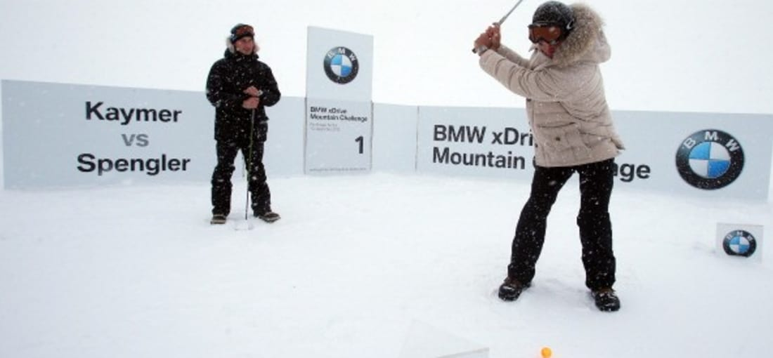 Es wurde bei der BMW xDrive Mountain Challenge sogar abgeschlagen. (Foto: Getty)