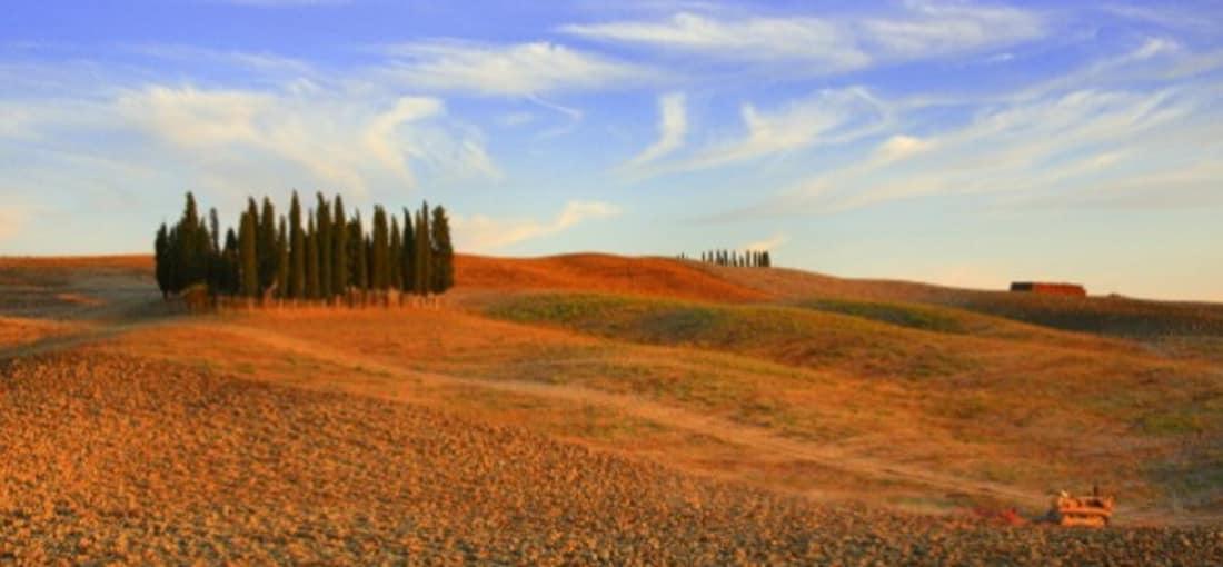 Landschaft der Toskana. (Foto: Getty)