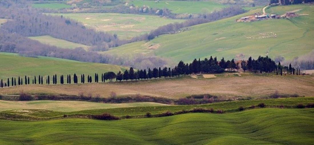 Typische Ausblick auf die Landschaft der Toskana. (Foto: Getty)