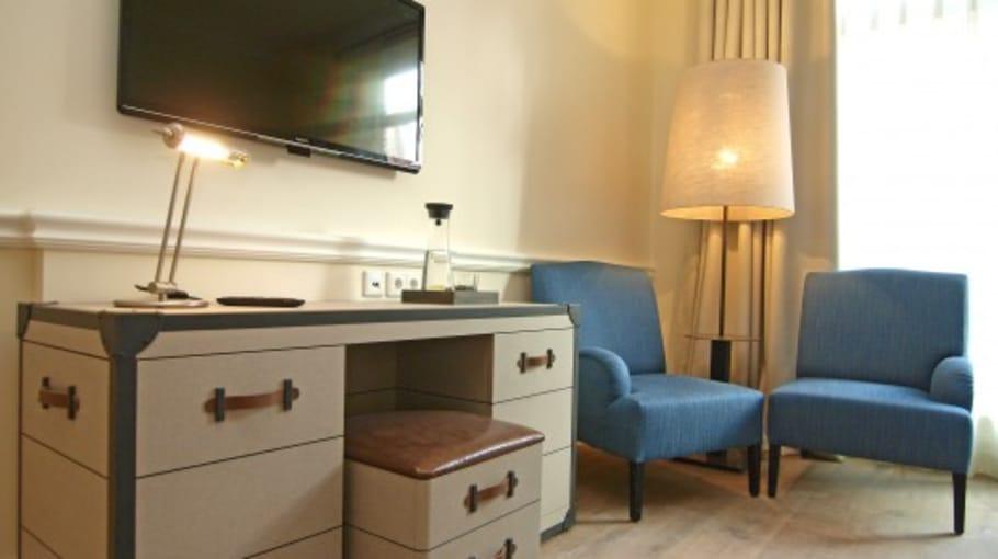 Die Zimmereinrichtung im Hotel und Gästehaus Gut Kaden (Foto: Gut Kaden)