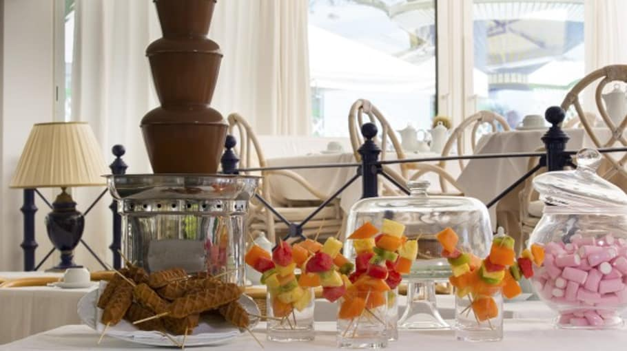 Reichhaltiges Frühstück. (Foto:Park Hotel Brasilia)