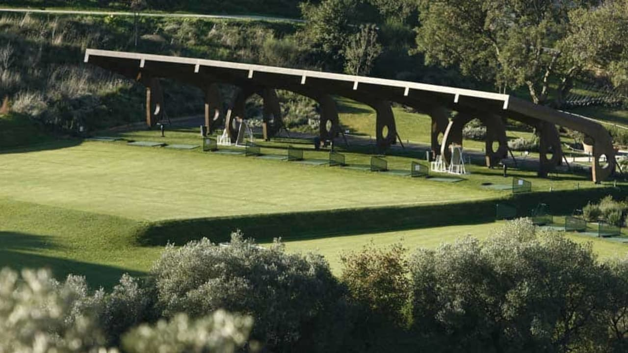 Das Argentario Golf Resort in der Toskana: Die Driving Range. (Bild: Argentario Golf Resort)