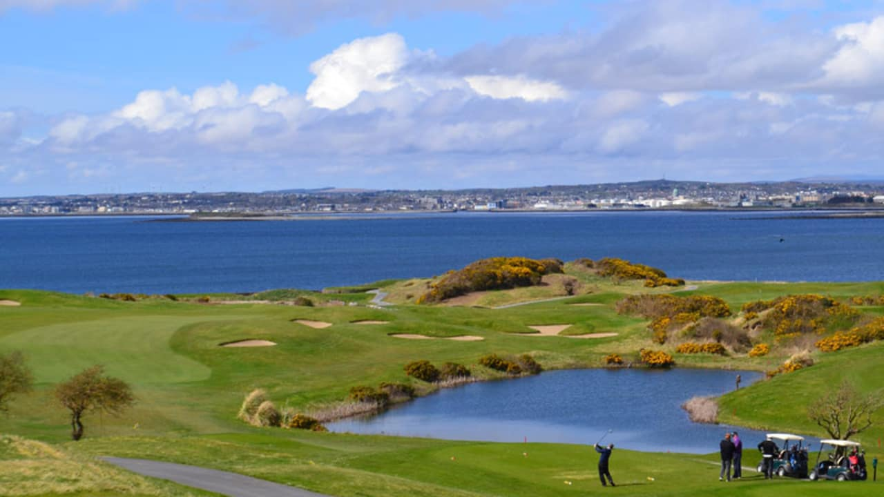 Der Galway Bay Golf Club.