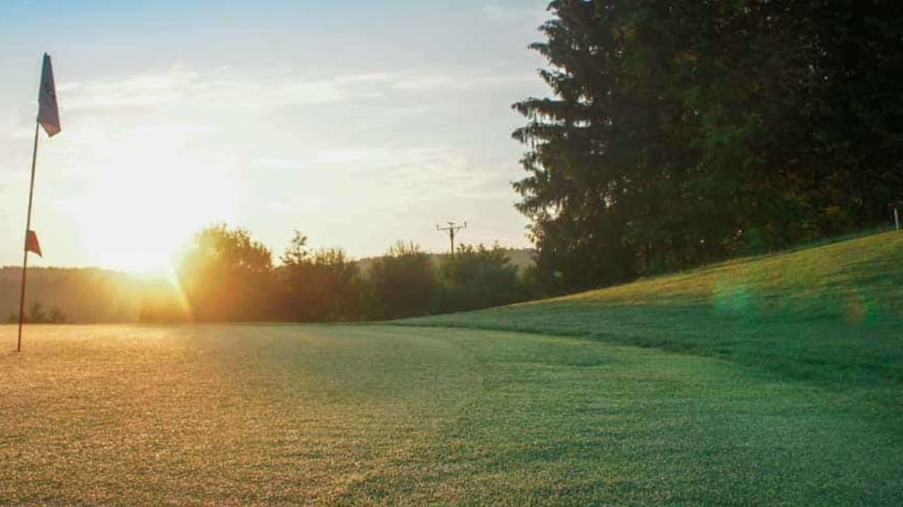 Golfanlage Gerhelm: Grün 6. (Foto: 500% Golf)