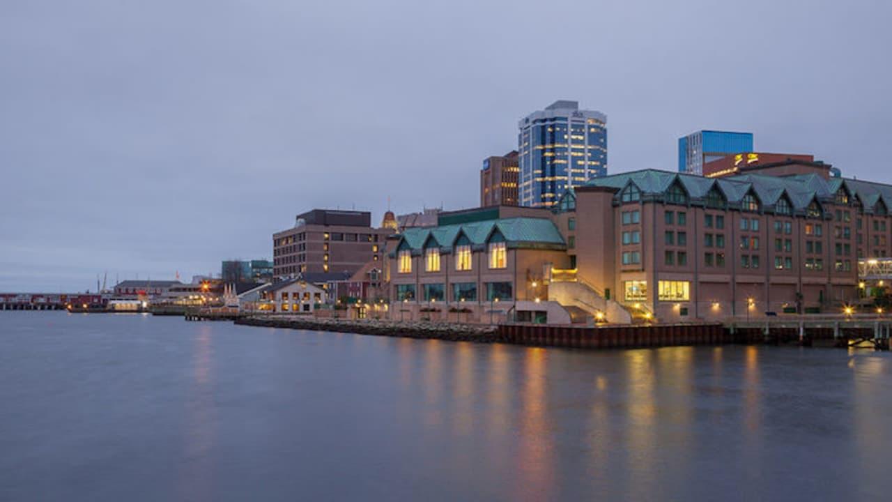 Das Marriott in Halifax liegt direkt an der Hafenfront.