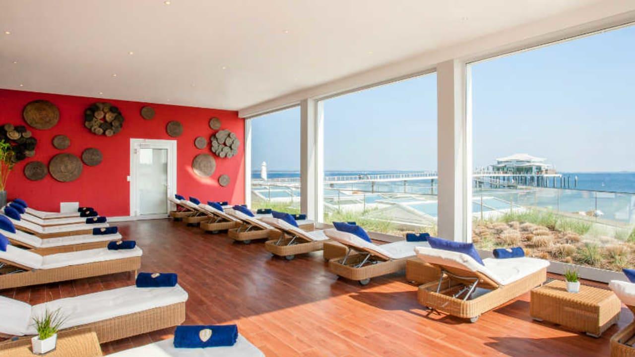 Demnach können Sie als Mitglied im Golfclub Scharbeutz direkt an der Ostsee entspannen und dazu auch noch eine Runde Golf genießen. (Foto: Grand Hotel Seeschlösschen)